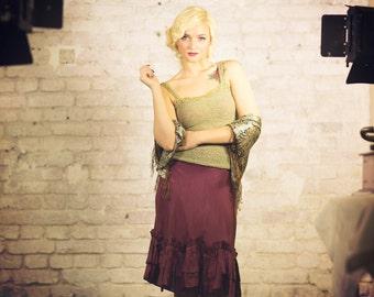 womens top - summer top - women knit top - pale green top - pale green vest - pistazien top - crochet