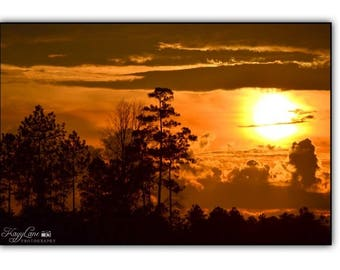 Sky Black Framed Wall Art Photography
