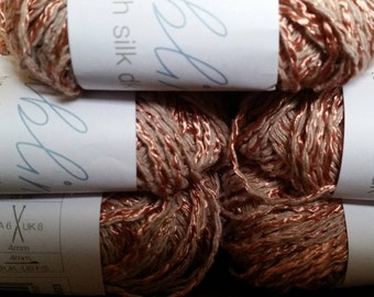 SUBLIME TUSSAH SILK Yarn in choice of colours