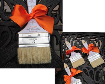 Brush the Sand from your Toes - Beach Paint Brush - Sand Paint Brush - Beach Wedding Favor  - Favor Promotional Item - Wedding Brushes