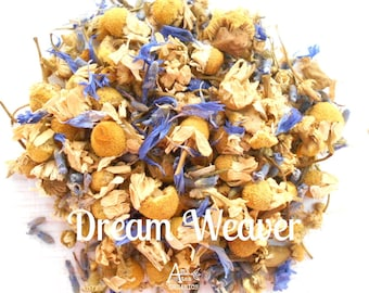 Chamomile Lavender, Herbal Tea, Organic, DREAM WEAVER, Vegan, Non GMO, Sleepy Tea, Caffeine Free, Night Time Blend, Healthy, Relax, Calm