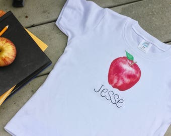 Back to School/Apple Picking Personalized Tee