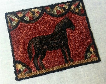 Famous Filly Punchneedle Digital Pattern