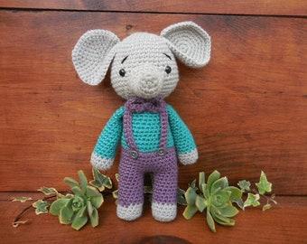 elephant doll amigurumi crochet