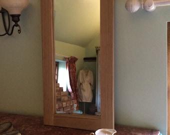 Oak Rectangular Mirror