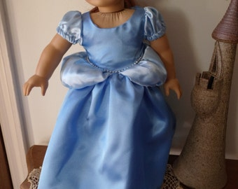 Cinderella Princess Dress for American Girl Doll