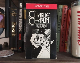 VHS Charlie Chaplin's Modern Times (1936)