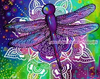 Mandala Medicine dragonfly