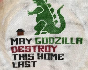 Godzilla Home Sign