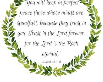 Isaiah 26:3-6