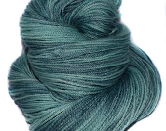 Hand dyed yarn - Merino - DK - 100g / 3.5oz - blues - teal - CHILL BILL