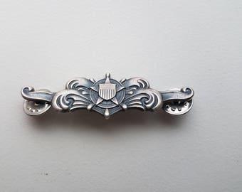 US Navy Silver Pin
