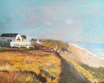 Seaside Boarding House, Chesil Beach, Dorset