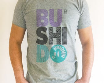 Men's Heather grey - Bushido T-shirt