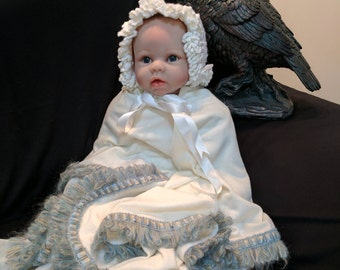 Premium Merino Baby Receiving Wrap