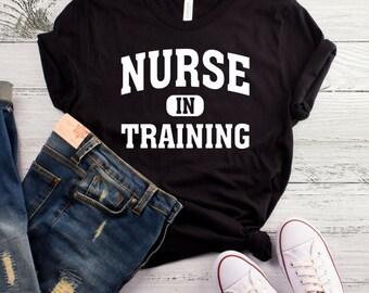 Nurse In Training T-Shirt, Nursing Student Shirt, Funny Nurse Student Shirt, Nursing Student Gift, Nursing School, Student Nurse Shirt