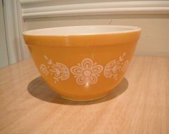 PYREX Butterfly Gold 401 Mixing bowl