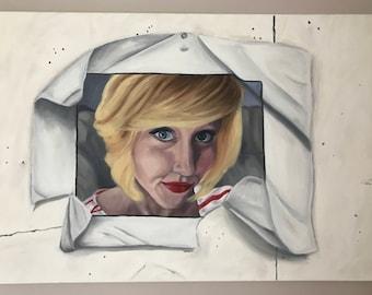 Trompe L'oeil Self-Portrait