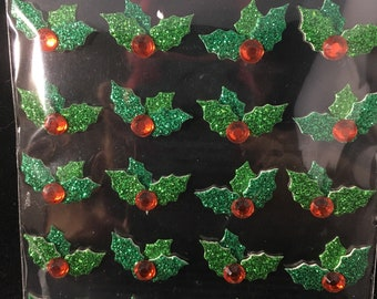 Christmas Holly Repeats Jolees Boutique