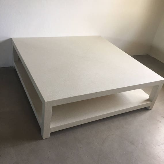 Custom Grasscloth Coffee Table/ Cocktail Table Design Your
