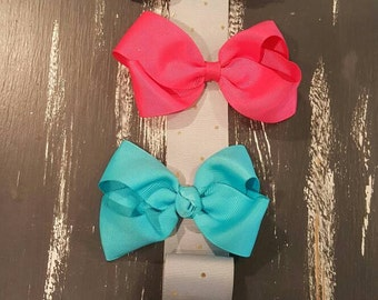 Butterfly Ribbon Hair Bow Holder