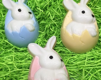 Easter bunny soap Easter soap Easter basket idea Easter favors Kids soap Easter gift Easter treat Bunny soap Soap Easter favors