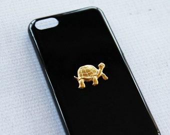 iPhone X Case iPhone 8 Case Turtle Sea Turtle Animal Ocean Reef Phone Case Ocean Animals Tortoise Case Black Hard PC Bling Case