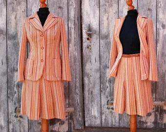Vintage 70s skirt suit
