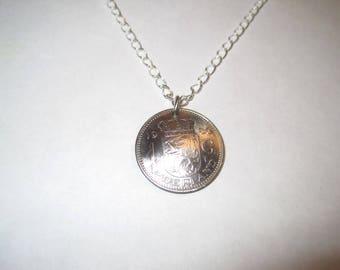 Netherland lion necklace- free shipping