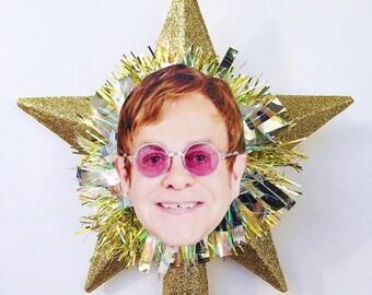 Elton John Christmas Tree Topper