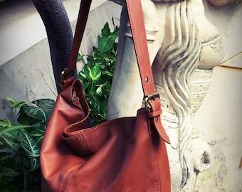 Leather Tote Bag. Single strap,adjustable belt strap. Soft leather shoulder tote bag. ote leather bag,leather shoulder tote bag,real leather