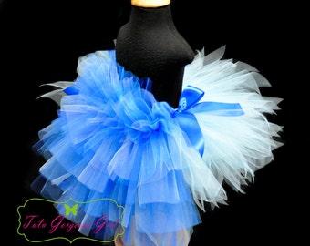 Blue Macaw Parrot Bustle Tutu...Halloween Parrot Tutu...Bird Dance Recital Costume...PEEK A BLUE