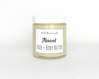 Almond Body Butter, 3oz