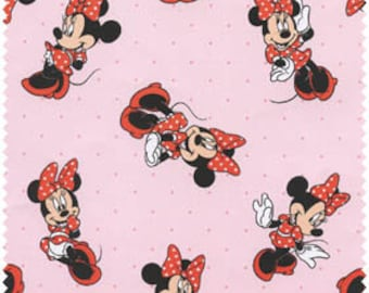 Disney's Minnie Mouse on Pink from Springs Creative - 100% Cotton
