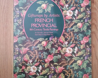 Giftwrap by Artists - French Provincial - NEW - 16 sheets