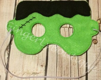 Felt Frankenstein Mask