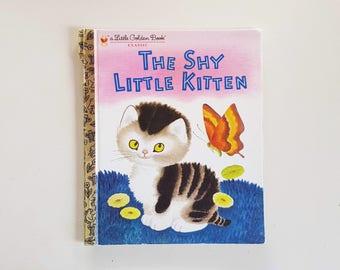 Little Golden Book - The Shy little kitten