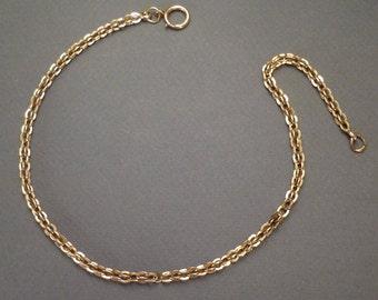 """14K Watch Chain 14"""" #52"""