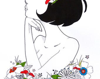 Women flower's
