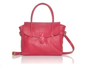 Pipkin, Handmade, Leather Tote Bag, Handbag, Shoulder Bag, Grab Bag, Cross Body Bag, Leather Purse, Summer Bag, Boho Chic, Gift for Women