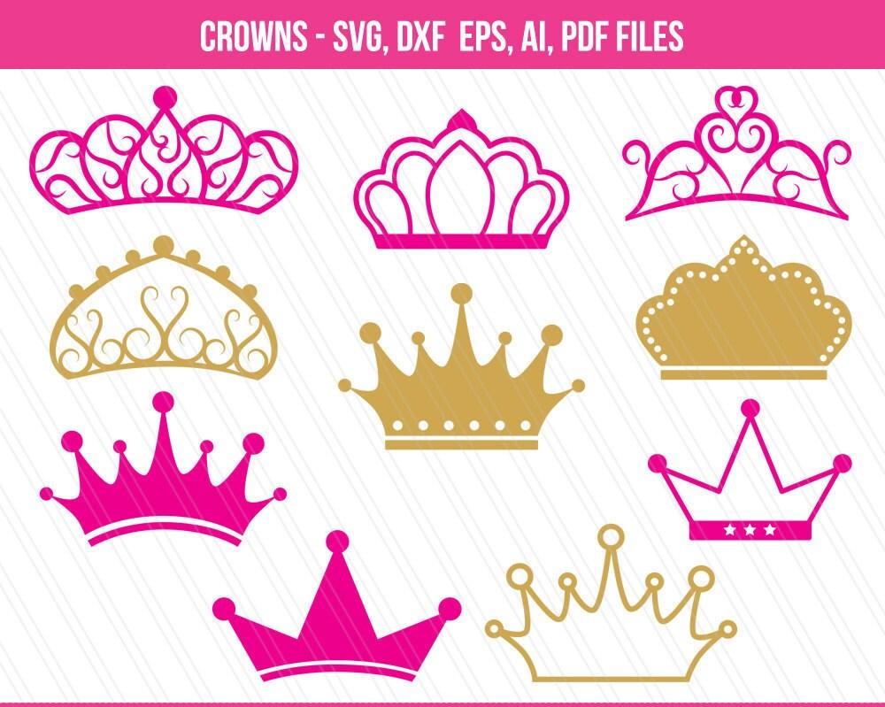 Kronen die SVG-Dateien Krone Clipart Krone Svg schneiden