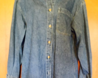 Eddie Bauer Classic jean shirt from the 1990's.