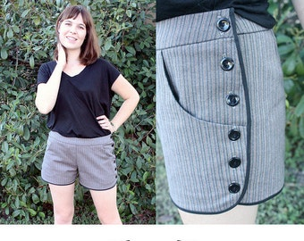 Movies in the Park Shorts Pattern - PDF download