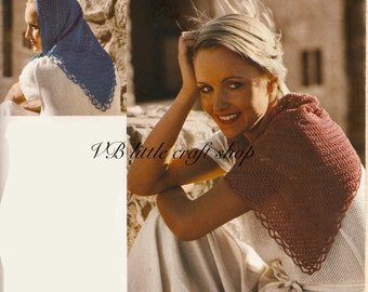 Shawl crochet pattern. Instant PDF download!