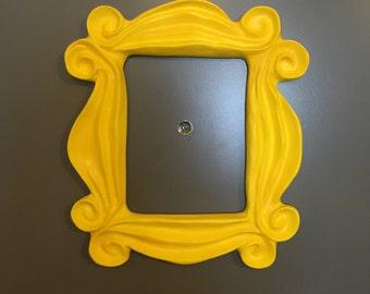 Yellow Friends Frame Monica Peephole Original Size Gold/Yellow Option