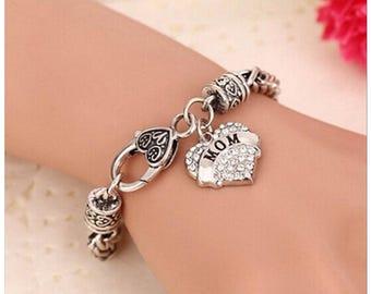 Mom charm bracelet-lovely gift
