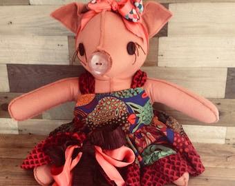 Original Toy Box Pig: Ariel