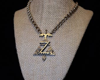 Legend of Zelda Triforce 2-in-2 necklace