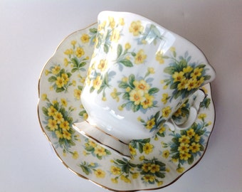 Royal Albert China Nell Gwynne Series Drury Lane cup and saucer.