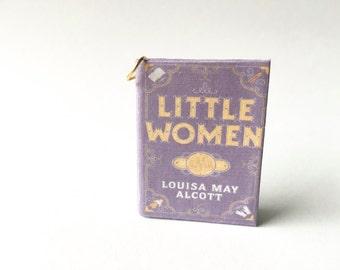 Miniature Little Women Book Necklace/Keychain